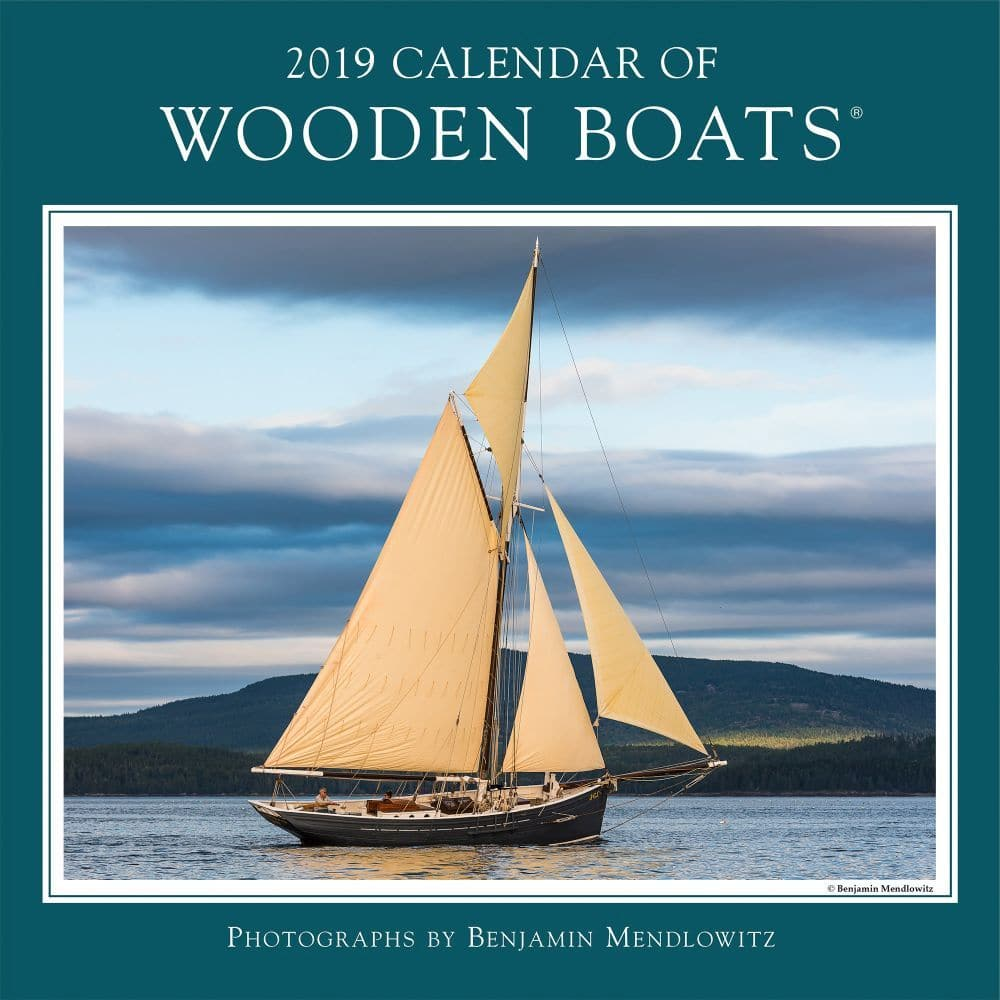 Holiday Selection Calendars Home The Nautical Mind Marine Wiring Books 2019 Calendar Wooden Boats