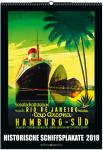Historial Liner Poster Calendar 2018