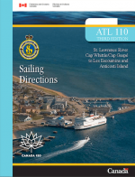 Sailing-Directions-St-Lawrence-Cap-Rouge-ATL110E