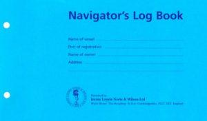 Navigators-Log Book-Refill