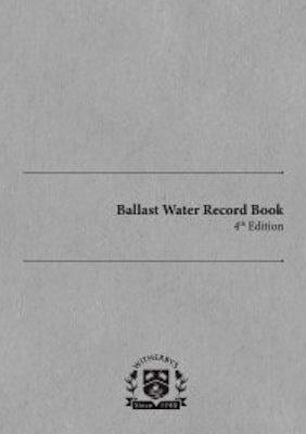 Ballast-Water-Record-Book-4th