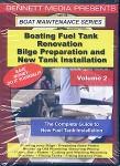Boating Fuel Tank Renovation: Bilge Preparation & New Tank Installation