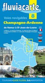 Guides Fluviacarte  8: Champagne-Ardenne – Namur to la Bourgogne