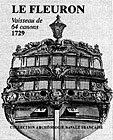 64-Gun Ship Le Fleuron, 1729 With English translation supplement by Gilles Koren