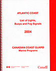 List of Lights, Buoys & Fog Signals: Atlantic Coast