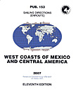 Sailing Directions: West Coasts of Mexico and Central America – Pub. 153