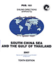 Sailing Directions: South China Sea and Gulf of Thailand (Enroute) – Pub. 161
