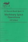 Oil Record Book (Part 1): Machinery Space Operations (All Ships)