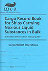 Cargo Record Book for Ships Carrying Noxious Liquid Substances…