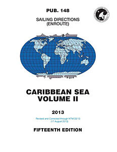 Sailing Directions: Caribbean Sea Vol II (Enroute) – Pub. 148