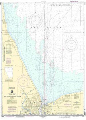 14865  South End of Lake Huron
