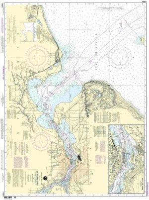 14884 St. Marys River- Head of L. Nicolet to Whitefish Bay