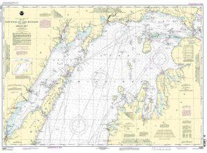 14902 North End of Lake Michigan, Incl. Green Bay