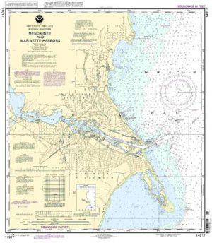 14917 Menominee and Marinette Harbors