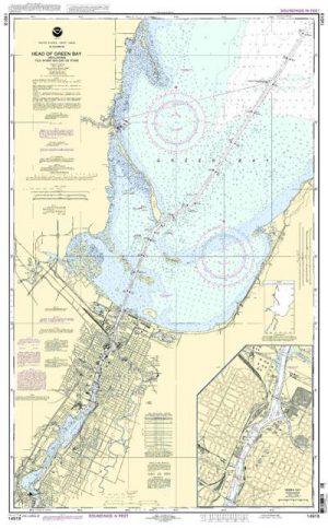 14918 Head of Green Bay, incl. Fox River below De Pere