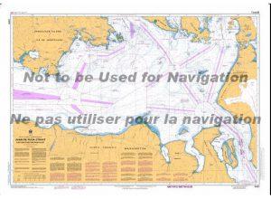 3461 Juan de Fuca Strait, Eastern Portion