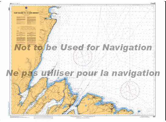 74f3f18d16015 4367 Flint Island to Cape Smoky by Canadian Hydrographic Service ...