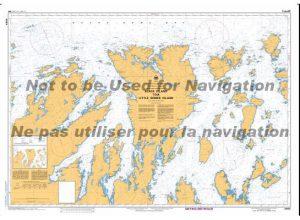 4864 Black Island to Little Denier Island
