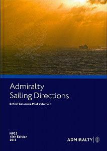 Admiralty Sailing Directions: British Columbia Pilot, Vol. I