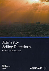 Admiralty Sailing Directions South America Pilot Vol. 4