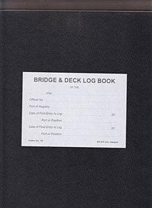 Bridge & Deck Log Book