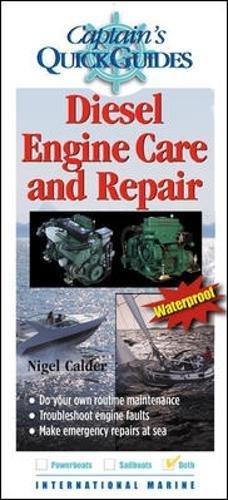 Captain's-Quick-Guides-Diesel-Engine-Care-Repair