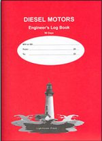Diesel Motors: Engineer's Log Book (90 Day)