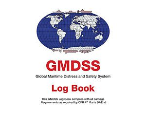 GMDSS (Global Maritime Distress and Safety System) Log Book (96 Days)