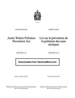 Arctic Waters Pollution Act