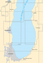 Lower Lake Michigan Paper Charts