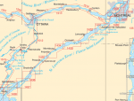 Rideau, Ottawa, St. Lawrence Paper Charts