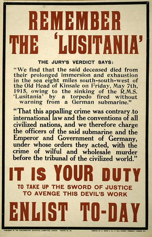 Remember the Lusitania-LOCAC