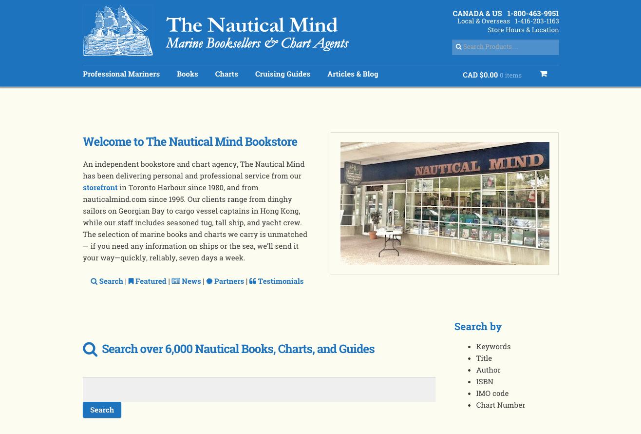 Nautical Mind Website