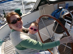 Sailing-with-baby-in-wrap