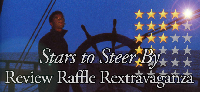 """Stars to Steer By"" Review Raffle Rextravaganza"