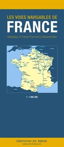 Carte de Voies Navigable de France RC0018 by Editions du Breil   The Nautical Mind