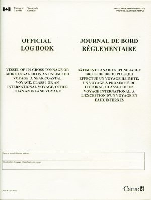 Transport-Canada-Official-Log-Book
