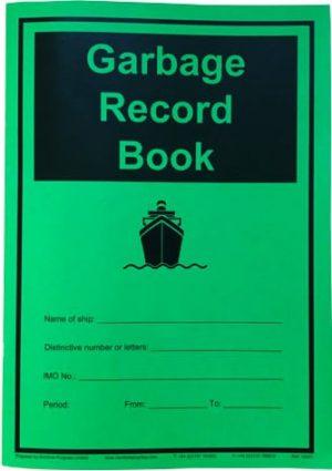 Garbage-Record-Book-2018