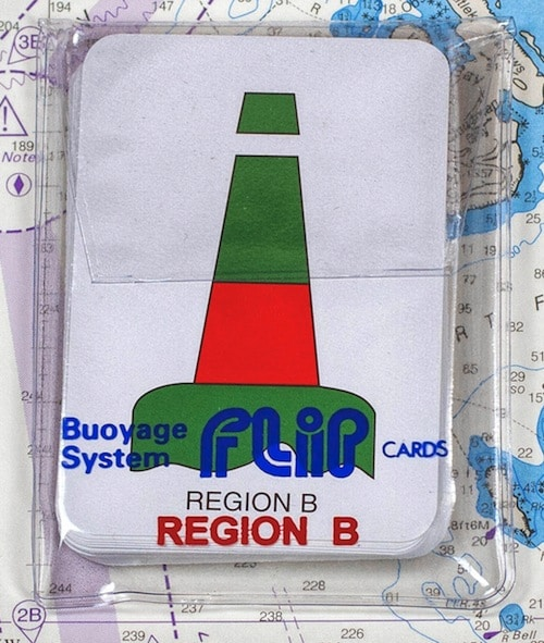 IALA A Buoyage Marine Flip Cards
