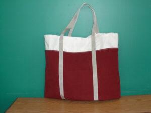 Burgundy-Tote-Bag