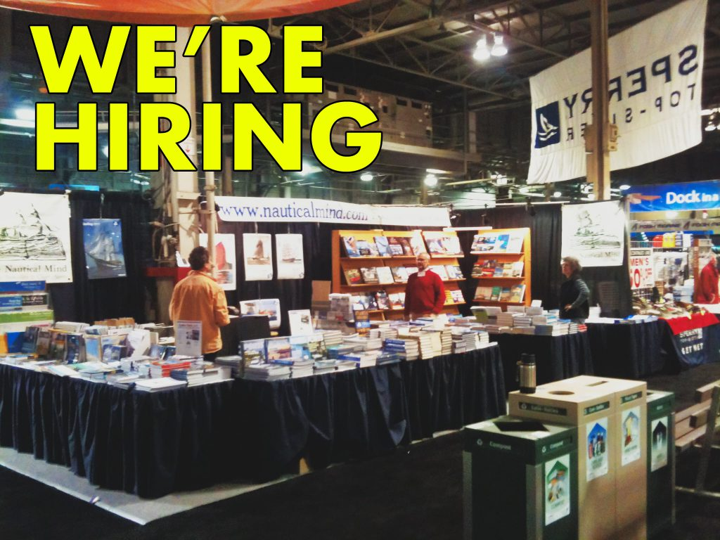 WE'RE HIRING FOR THE BOAT SHOW
