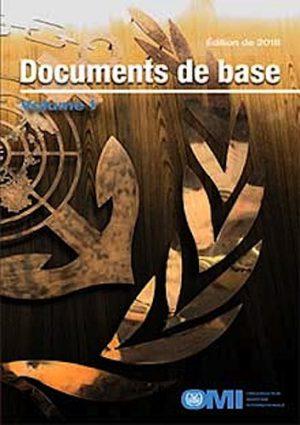 2018_Basic Documents_Volume I_French.indd