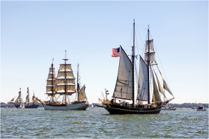 Tall Ships visiting Toronto Harbour in 2010