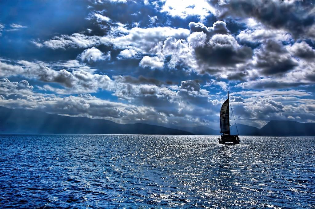 Sailing along the legendary Ionian Sea.