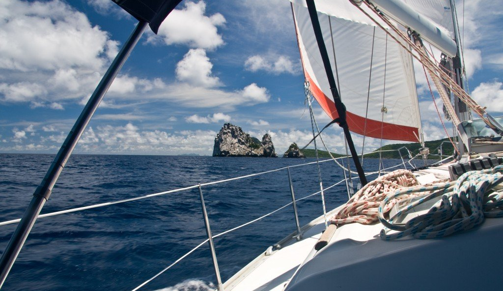 Exploring the Caribbean from the Grenadines.