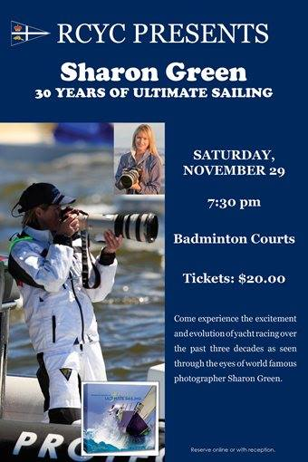 Ultimate Sailing Photographer Sharon Green at RCYC